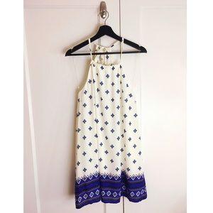 Lulu's BTribal Aztec Southwest Print Sun Dress M